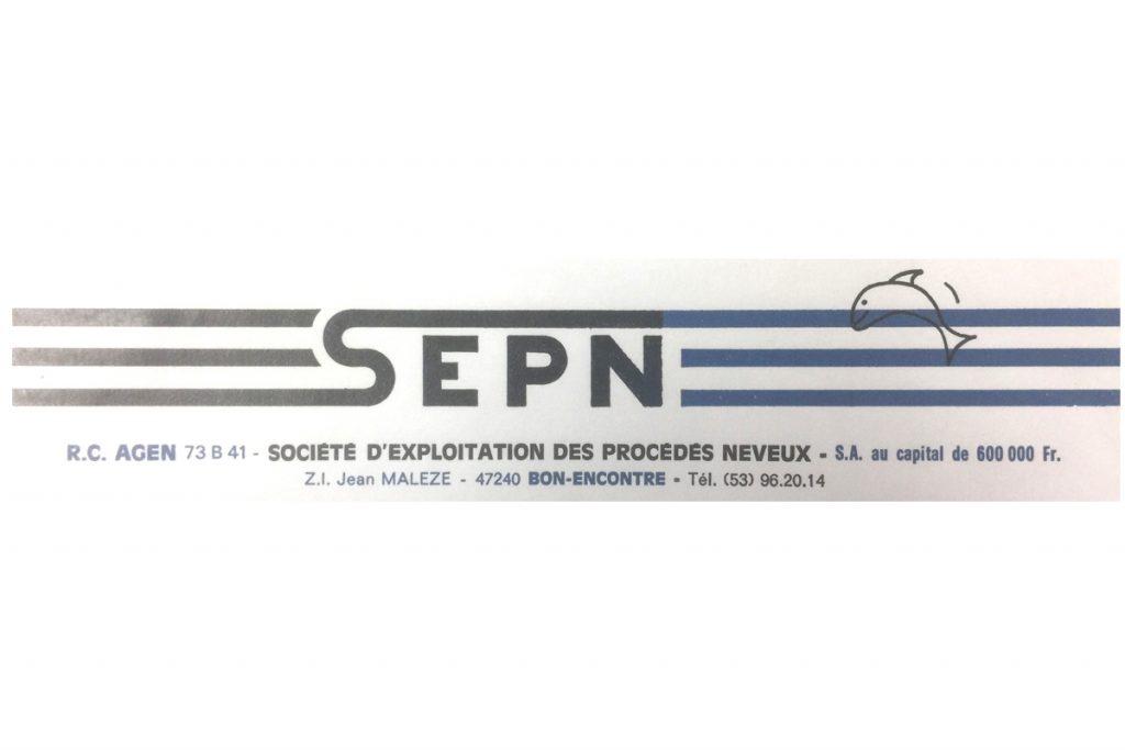 Création de la société sous le nom SEPN SA